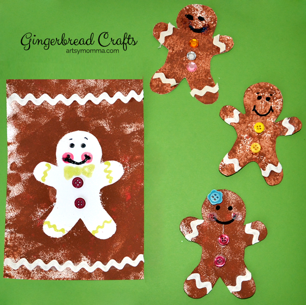 4 Gingerbread Man Crafts for Kids