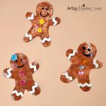 Cookie Cutter Gingerbread Paper Craft