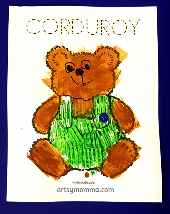 Corduroy the Bear Craft for Preschoolers