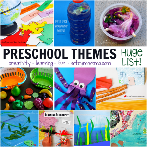 Creative Preschool Learning Themes