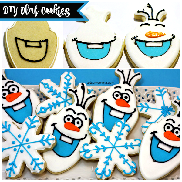 Frozen Birthday Party Cookie Recipe - OLAF
