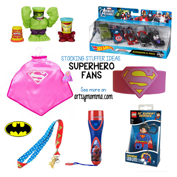 Holiday Wish List - DC Comics & Marvel Stocking Stuffer Ideas