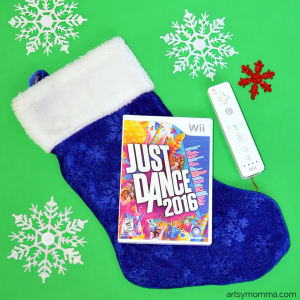 Just Dance 2016 Stocking Stuffer Idea for Active Kids