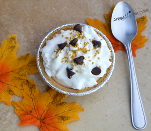 Mini Pumpkin Pie in 3 easy steps!