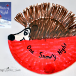 One Snowy Night Hedgehog Craft