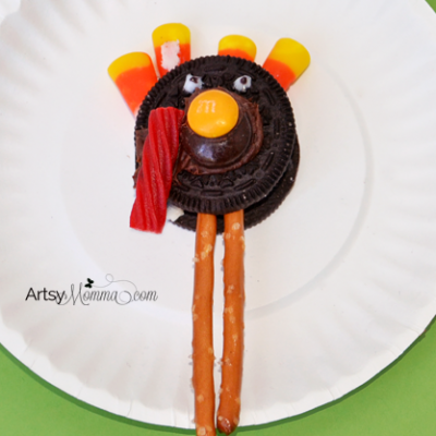 How to make an Oreo Turkey Snack for Thanksgiving