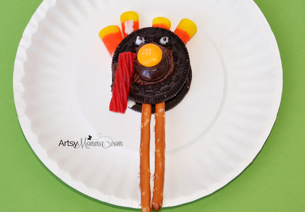 Creative Snack Idea - Oreo Turkeys