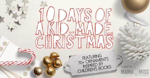 Book-inspired Christmas Ornaments