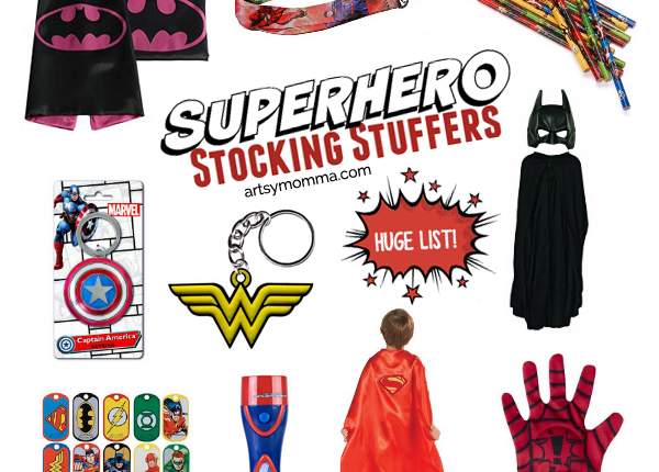 Superhero Stocking Stuffers – Holiday Gift Guide for Busy Moms
