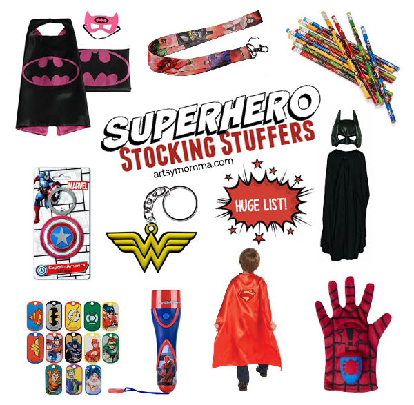 Superhero Stocking Stuffers
