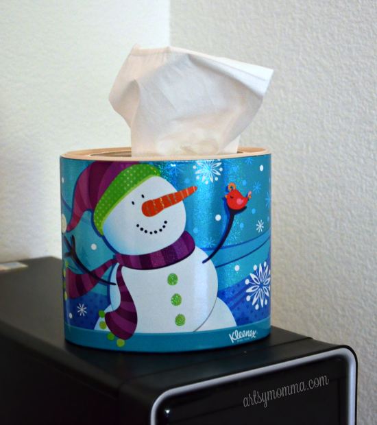 Decorative Kleenex Boxes for Winter