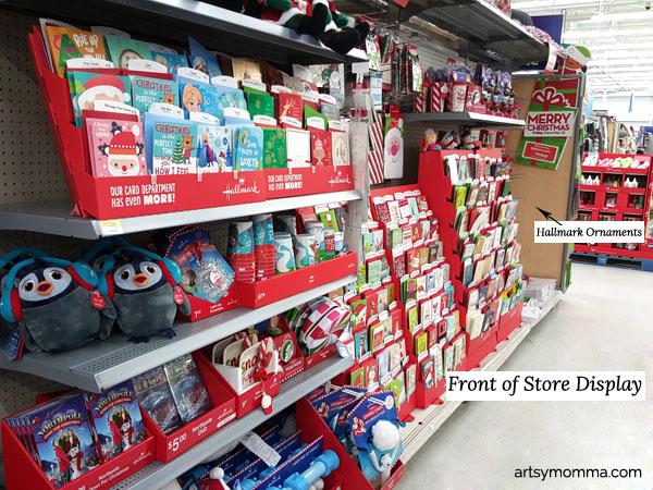 Front of Store Hallmark Display at Walmart