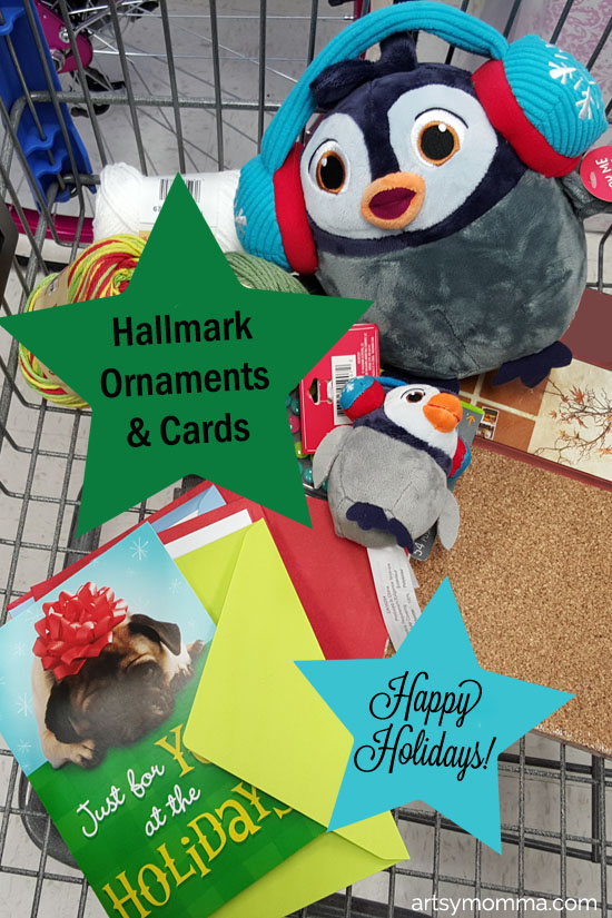 Hallmark Cards & Penguin Ornament