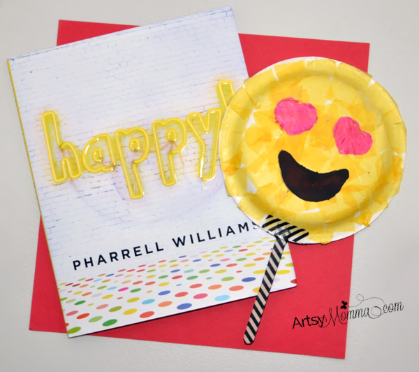 Happy Book Review & Emoji Craft