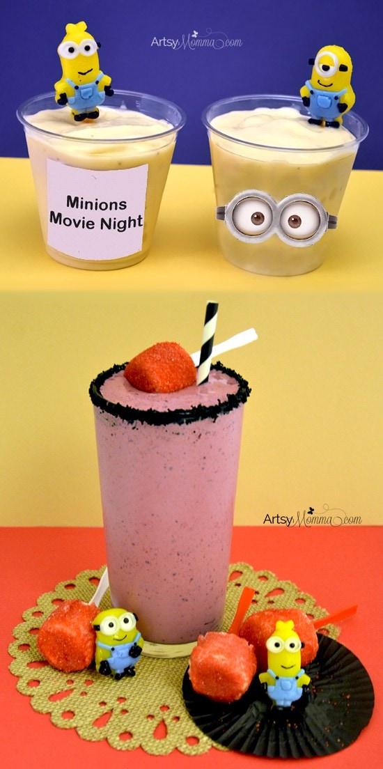 Minions Movie Night Smoothie Recipes