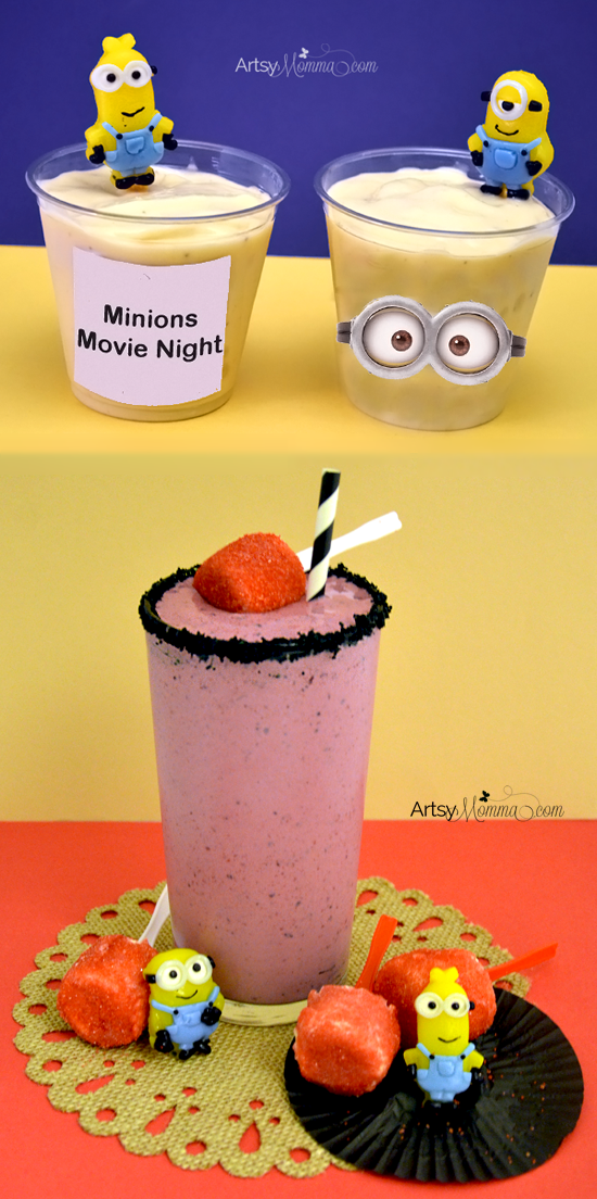 Minions Movie Night Smoothie Recipes