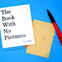 The Book With No Pictures is sure to have the kids giggling non-stop!