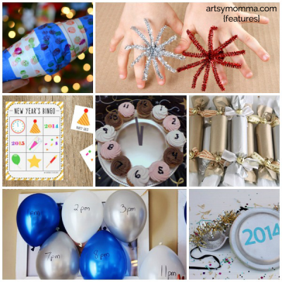 25 Ways to Celebrate New Year's Eve with Kids