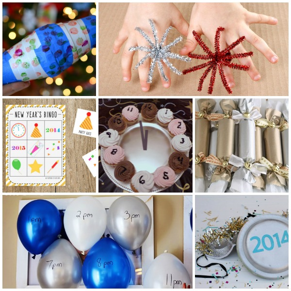 New Year's Eve with Kids: Crafts, Activities & Fun Food Ideas!