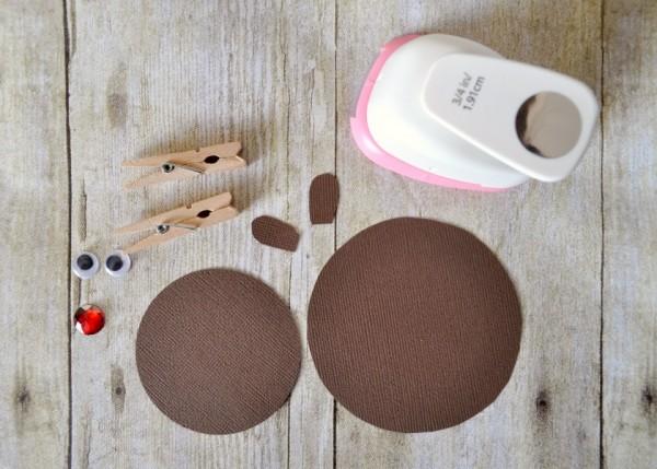 Super Cute Reindeer Puppet Craft Supplies