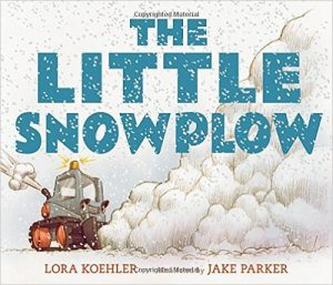 The Little Snowplow - Kids Weather Themed Book