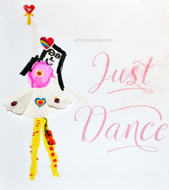 Easy Dance Craft for Kids - Ballet