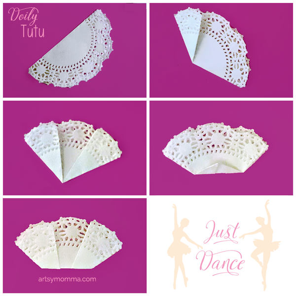 How to make a Tutu Doily Origami Craft