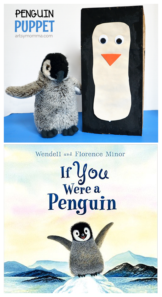 If You Were a Penguin Book + Paper Bag Penguin Puppet