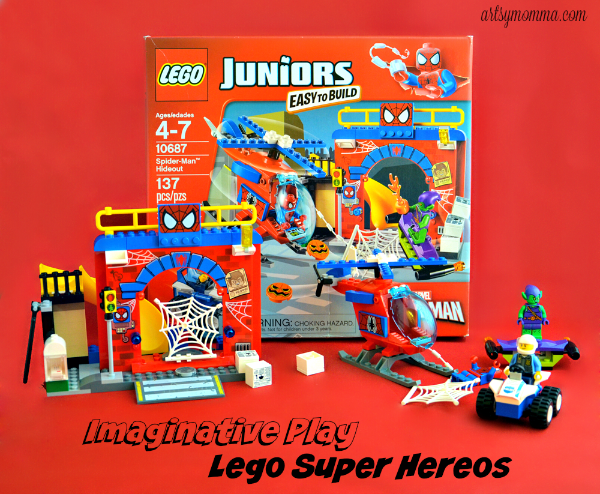 Pretend Play Activity: Lego Superheroes - Lego Juniors
