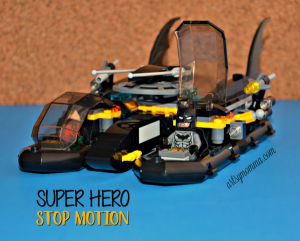 DC Comics Lego Super Hero Stop Motion - STEM