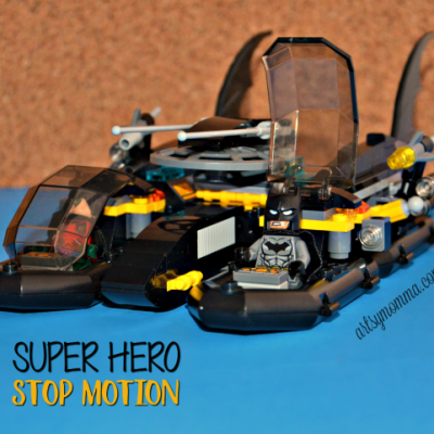 Fun with Legos + a Superhero Stop Motion Video