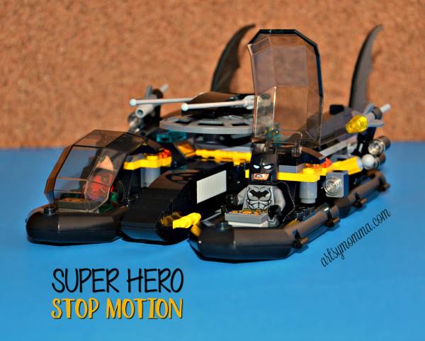 DC Comics Lego Super Hero Stop Motion - STEM