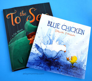 Kids Books: To the Sea & Blue Chicken