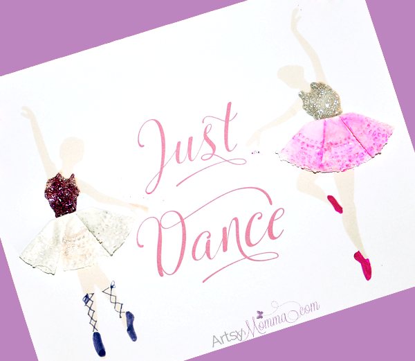 Tutu Doily Ballerina Craft