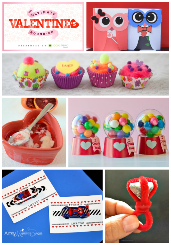 Huge List of Valentine's Day Activities, Valentines, & Party Ideas