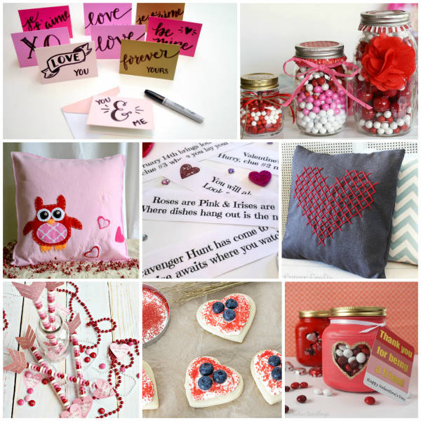 Valentine's Day Crafts, Cards, Recipes and Printables