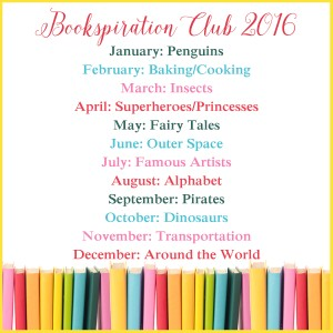 bookspiraiton club - kids book extensions