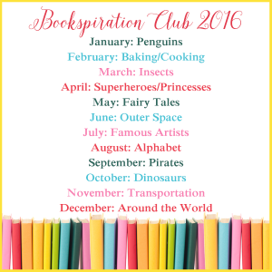 bookspiraiton club 2016 schedule