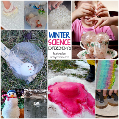25 Cool Winter Science Activities to do with kids