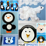 Polar Opposites: Crafty Penguins and Polar Bears