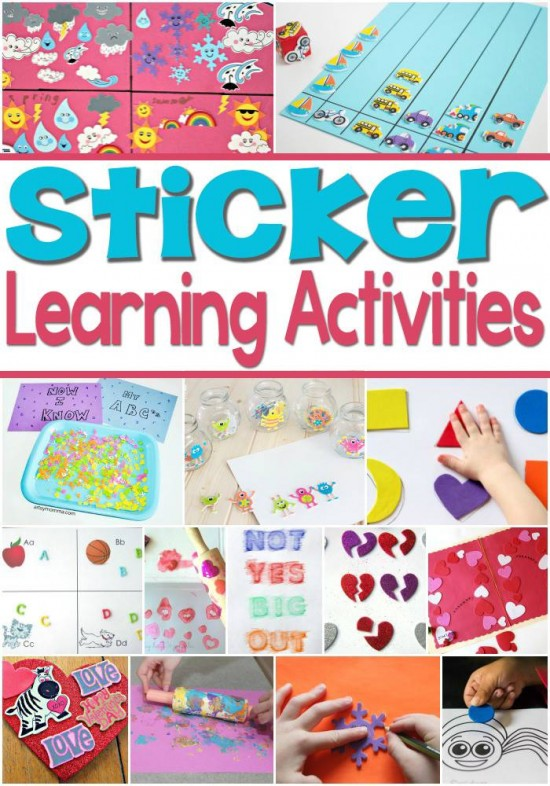 Foam Sticker Learning Activities