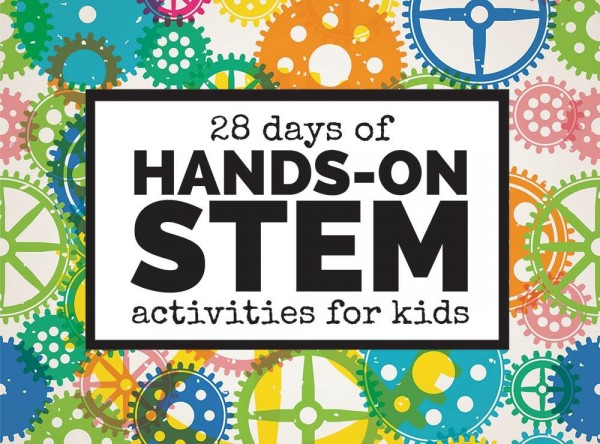 29 Days of Hands On STEAM Activities