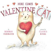 Here Comes Valentine Cat + Book Extensions