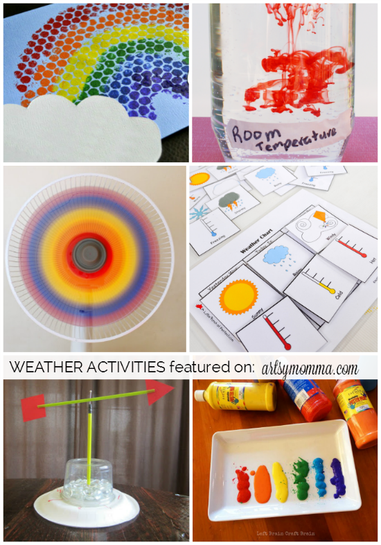 Simple, inexpensive ways to learn about weather through STEAM Projects