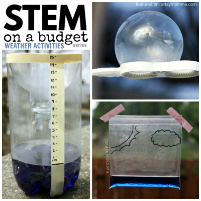 STEM on a Budget – 50 Creative Weather Activities