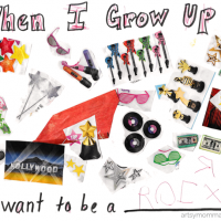 'When I Grow Up' Collage Craft and Printable