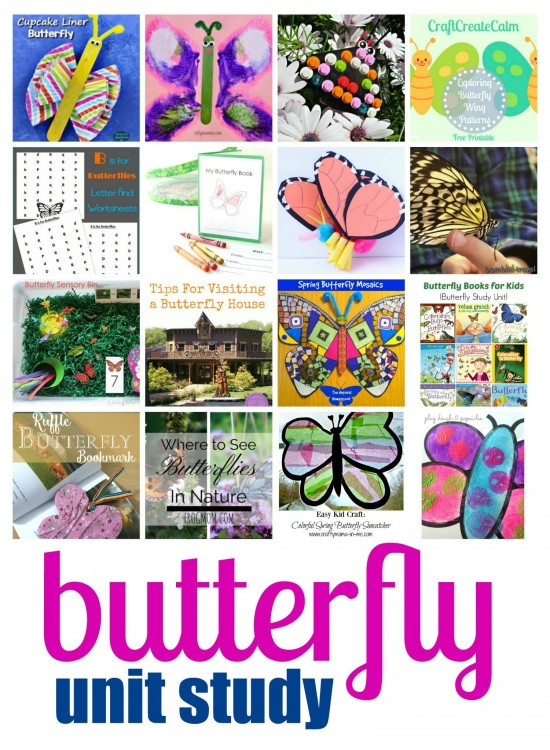 Butterfly Themed Crafts & Activities for Kids
