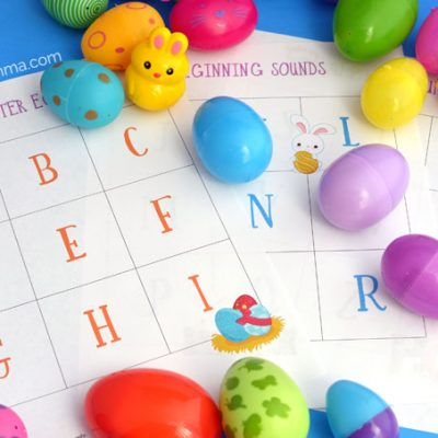 Beginning Sounds Easter Egg Alphabet Hunt