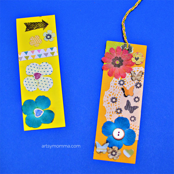 Crafty Bookmarks using Diamond Press