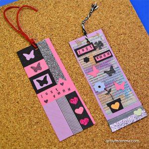 DIY Bookmarks Using Die Cuts